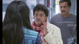Shakalaka Shankar Hilarious Train Comedy Scene - 2017 Latest Telugu Movie Scenes - Richa Panai