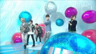 getlinkyoutube.com-SHINee - Hello, 샤이니 - 헬로, Music Core 20101009