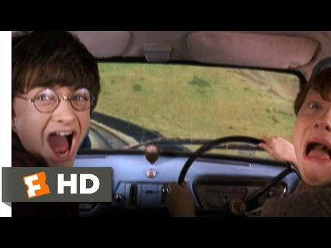 Reckless Flying Scene - Harry Potter and the Chamber of Secrets Movie (2002) - HD