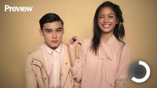 getlinkyoutube.com-Ylona Garcia Does Bailey May's Makeup