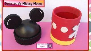 ♥DULCERO DE MICKEY MOUSE♥- ♥♥CREACIONES mágicas♥♥