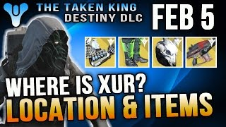 getlinkyoutube.com-Xur Location Feb 5 2016 Destiny Where is Xur 2/5/16 Suros Regime