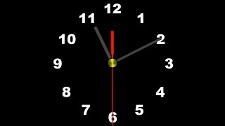 getlinkyoutube.com-COUNTDOWN (v112) Clock 1h in 9min with sound effect, voice, tick tack, beep! HD