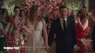 "getlinkyoutube.com-Revenge 4x23  Emily and Jack Wedding ""Two Graves"" Series Finale"