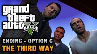 getlinkyoutube.com-GTA 5 - Ending C / Final Mission #3 - The Third Way (Deathwish)