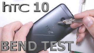 getlinkyoutube.com-HTC 10 Bend Test - Scratch Test - Burn Test - Durability video