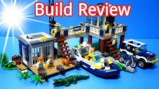 getlinkyoutube.com-레고 늪지 경찰본부 장난감 (Lego 60069 Swamp Police Station)