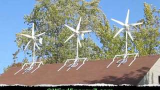 getlinkyoutube.com-Roof Mount Wind Turbine