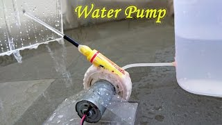 getlinkyoutube.com-How to Make a Water Pump using Bottle and Sketch pen - Easy Way