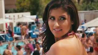 getlinkyoutube.com-Hot 100 Bikini Contest Round 3 (2013) at Wet Republic Ultra Pool Las Vegas (HD Video)
