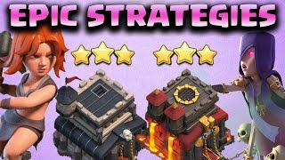 BEST TH9 3 STAR ATTACK STRATEGIES + TH10 QUAD LALOON 3 STAR | WD#17 | Clash of Clans