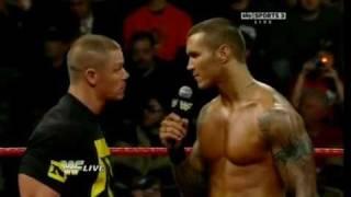 getlinkyoutube.com-Randy Orton Vs wade barrett  and John cena