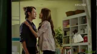 사랑비 HD  Love rain-  Kiss scene (Jang geun suk & Yoona) Eng sub & Thai sub