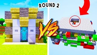 getlinkyoutube.com-Redstone Pro vs Redstone Noob [PART 2]