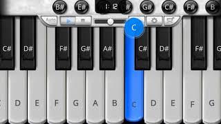 dekha hai pehli sajan ki aankho me pyaar piano music, piano tutorial, piano music  6699