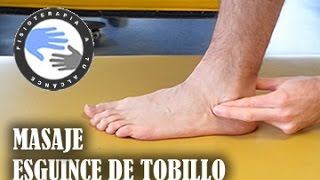 getlinkyoutube.com-Masaje para esguince de tobillo, como autotratar tu lesion