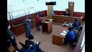 Судебное заседание по делу Максата Усенова, 04.02.2014