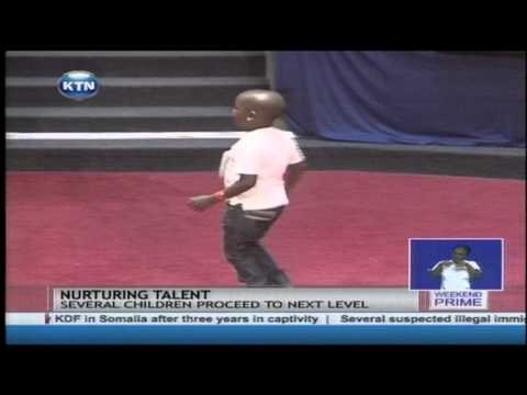 Parents flocked the KICC to showcase their children's talents