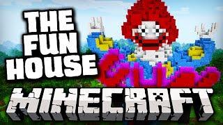 Minecraft: THE FUN HOUSE (PASSEIO DO TERROR) - Rollercoaster Map