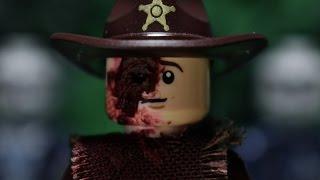 getlinkyoutube.com-Lego The Walking Dead Death of Sam, Jesse, and Ron