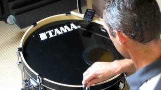 getlinkyoutube.com-Tuning a kick drum with a tune-bot