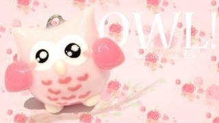 getlinkyoutube.com-◕‿◕Cute Owl! Kawaii Friday 87 - Tutorial in Polymer clay!