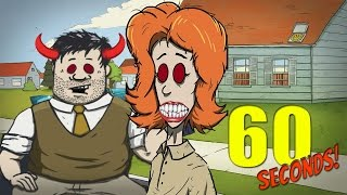 getlinkyoutube.com-WORST PARENTS EVER CHALLENGE | 60 Seconds Game