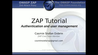 getlinkyoutube.com-ZAP Tutorial - Authentication, Session and Users Management