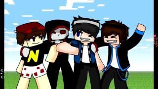 getlinkyoutube.com-Minecraft 3F Parkour !!