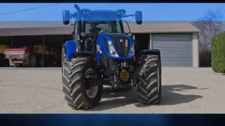 New Holland T6 Tier 4B - Maneuverability