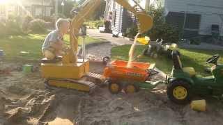 getlinkyoutube.com-Micro excavator testing / training