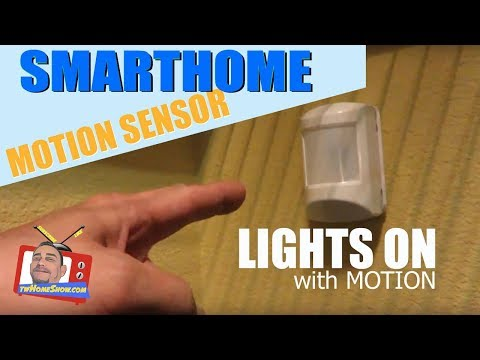 MOTION SENSOR For SmartHome: Motion ACTIVATE Your Lights & MORE!