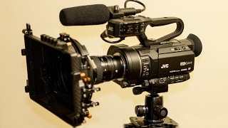 getlinkyoutube.com-JVC GY-LS300 Cinema 4K Camera Review