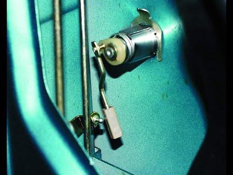 Где в ВАЗ 21103 датчик открывания двери