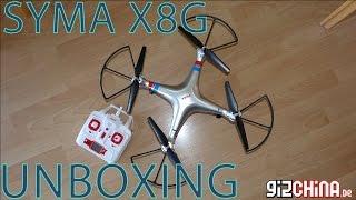 getlinkyoutube.com-Syma X8G Unboxing