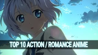 getlinkyoutube.com-Top 10 Action/Romance Anime #2 HD