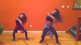 getlinkyoutube.com-Bet you can't do it like me challenge...Mommy daughter team