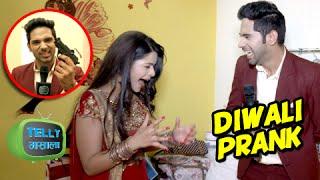 getlinkyoutube.com-Diwali Special : Dhruv Plays A Prank With Thapki & Team