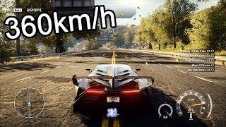getlinkyoutube.com-NFS Rivals Lamborghini Veneno [Acceleration & Sound]
