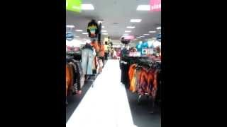 "getlinkyoutube.com-TSP Trendy Teen Models preparing to Mannequin ""Freeze"" Model at DEB in Genesee Valley"