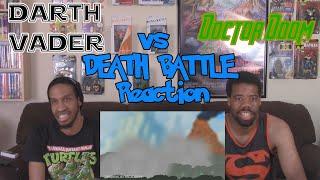 Darth Vader VS Doctor Doom DEATH BATTLE Re-upload Reaction