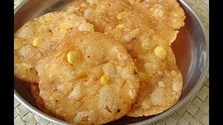 getlinkyoutube.com-Recipe - Rice Crackers Recipe With English Subtitles