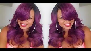 "getlinkyoutube.com-Sombre Hair: Zury Sis ""Ari"" C-Part Wig"