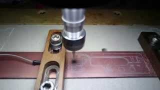 getlinkyoutube.com-Milling a PCB with level compensation, using only free software