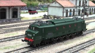 "getlinkyoutube.com-Jouef - HJ2284S - SNCF, electric locomotive 5547 ""Waterman"", green livery, period III"