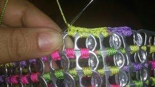 getlinkyoutube.com-Bolsa de anilla sobre anilla