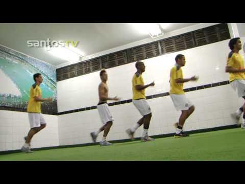 Bastidores - Santos 2x0 Vasco