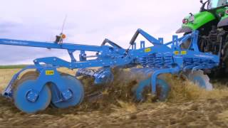 LEMKEN Rubin 12 Overload protection and spring elements