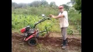 getlinkyoutube.com-arado para micro trator Branco e outros/ plow for garden tractor or White and other ...