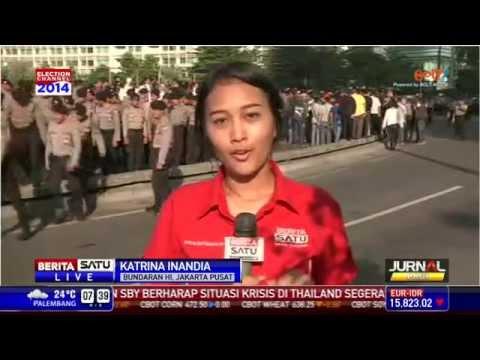 Polda Metro Jaya dan KPU Gelar Simulasi Kerusuhan Pilpres
